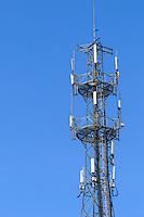 Cellsite cellular base station antenna lattice tower